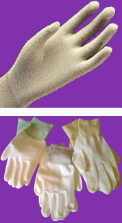 Atron strech gloves, Large fit ESD knitted glove