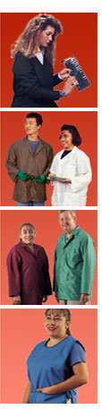 Esd jacket, anti-static coat, lab coat, static control garments